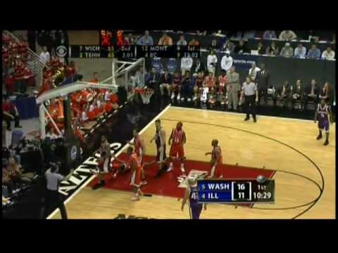 #4 Illinois vs #5 Washington Ncaa Tournament 2nd Round 2006 (Full Game)