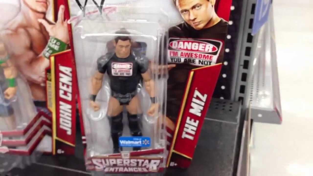 Walmart Wwe Toys : Wwe action insider the miz walmart exclusive t shirt