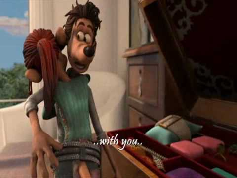 flushed away at the beginning youtube