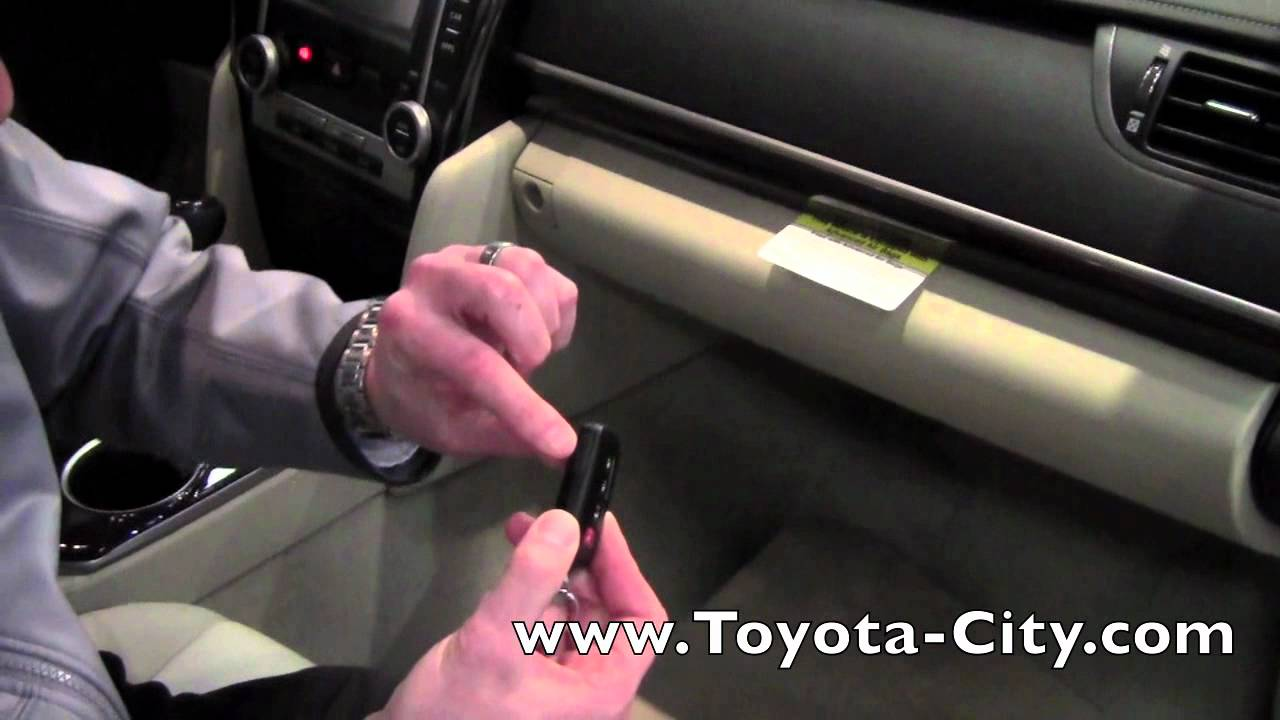 2012 toyota camry valet smart key how to by toyota city minneapolis mn youtube. Black Bedroom Furniture Sets. Home Design Ideas