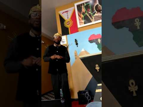Prince York son of Malachi Z York dropping knowledge in Jersey City NJ must watch