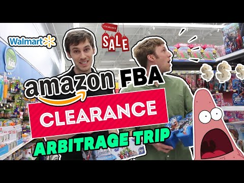 Amazon FBA Clearance Arbitrage Trip - Making Money Shopping at WalMart