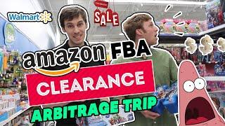 Amazon FBA Clearance Arbitrage Trip - Making Money Shopping at WalMart