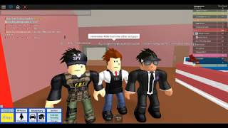 being part of the F.B.I in roblox /Roblox High School/