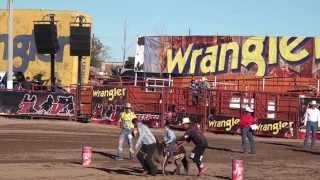 Niños Vaqueros en Rodeo Wrangler Finales 2013 Chihuahua presenciamexicoTV