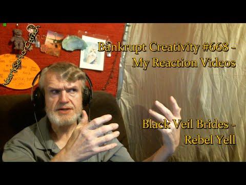 BLACK VEIL BRIDES - REBEL YELL COVER : Bankrupt Creativity #668 - My Reaction Videos