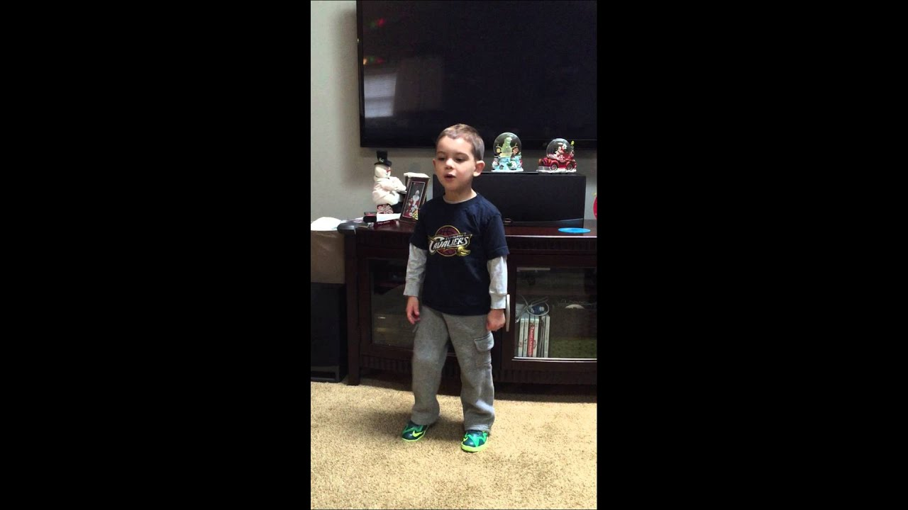 4 year old kills Cavs intro. #cavs  #lebronjames #kyrieirving #kevinlove