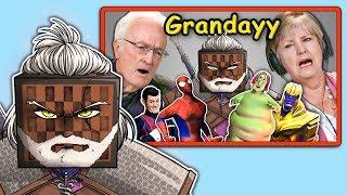 I React to Elders React to Grandayy