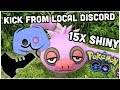 BANNED FROM MY LOCAL DISCORD FOR NOTHING | 15 SHINY SLAKOTH IN POKEMON GO