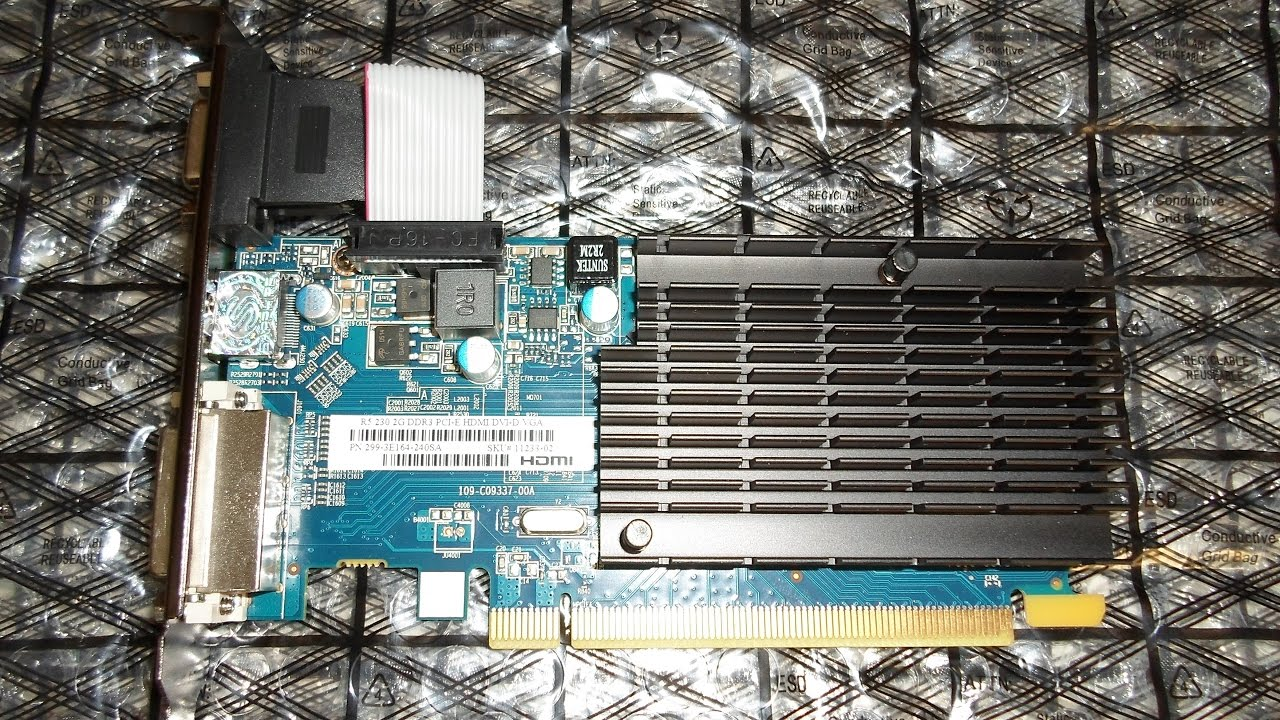 Sapphire Radeon R5 230 Benchmarks