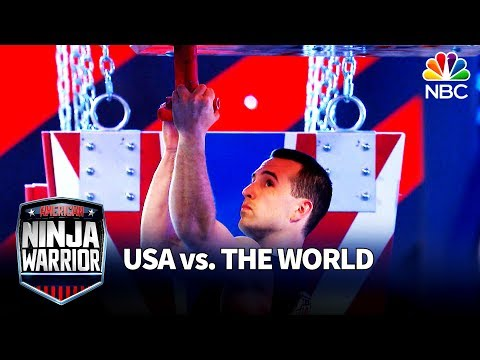 Joe Moravsky's Stage 3 Run - American Ninja Warrior: USA vs. The World