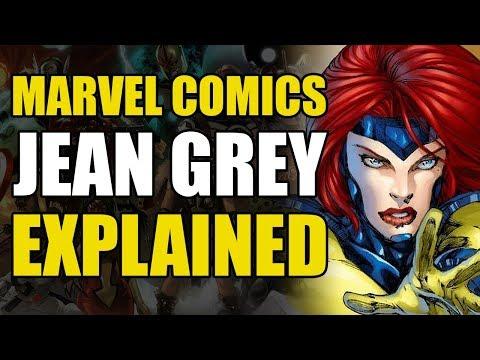 Marvel Comics: Jean Grey Explained (Phoenix & Dark Phoenix)