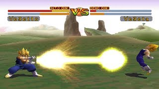 Dragon Ball GT: Final Bout [PS1] - Super Vegetto