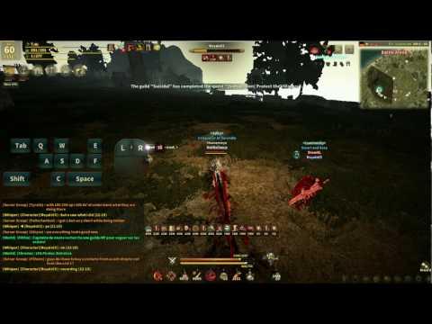Black Desert Online - Warrior Awakened 100% move