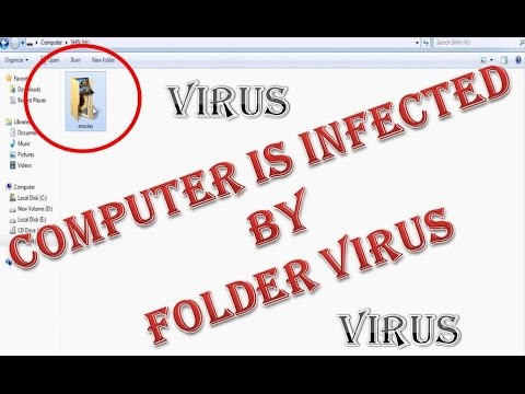 How to Remove Folder Virus from computer without using Antivirus