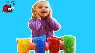 Invatam Culorile cu Puzzle Colorat   Learn Colors with Melissa  Video Educativ
