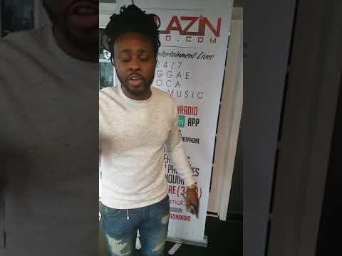 DJ ABLAZE FROM ABLAZIN RADIO STATION IN MARYLAND