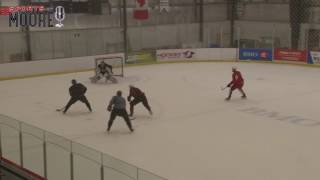 Crosby & MacKinnon practicing together