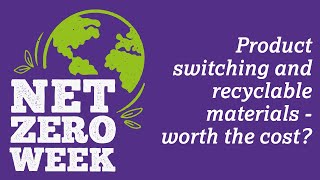 Click here to play the Product switching and recyclable materials – worth the cost? video