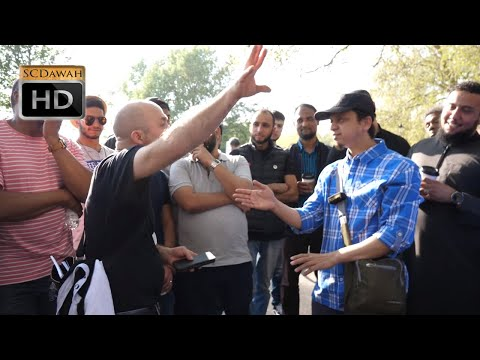 P1 - Rude Faith! Mansur Vs Christian | Speakers Corner | Hyde Park