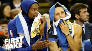 Is Kevin Durant leaving the Warriors for the Knicks? Stephen A. explains   First Take