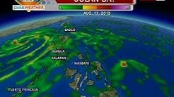 QRT: Weather update as of 5:32 p.m. (Aug 12, 2013)