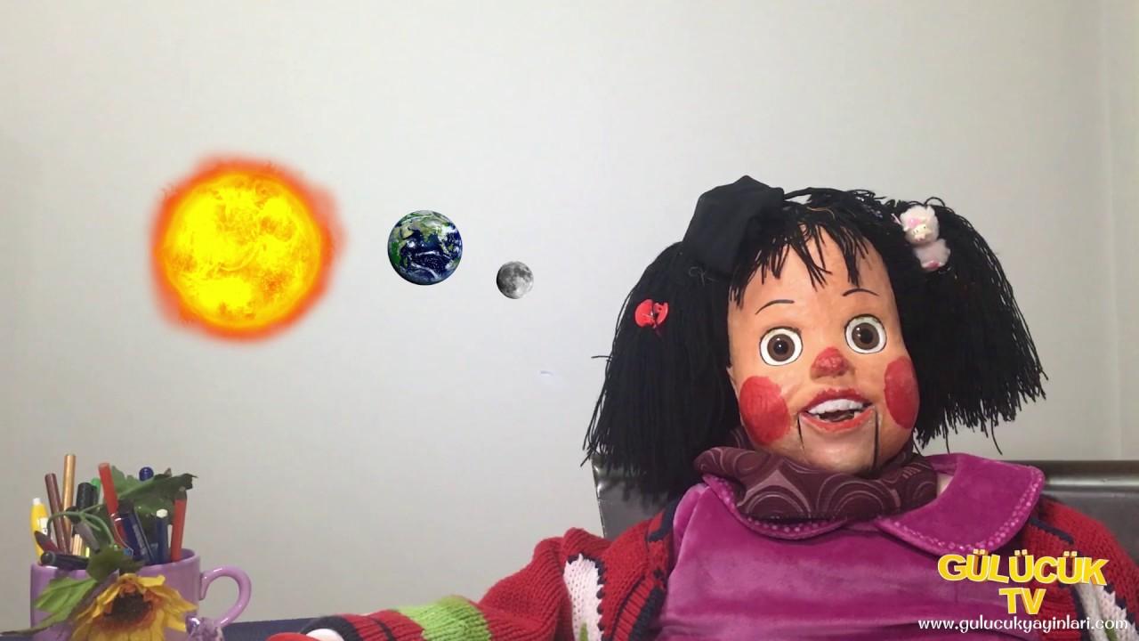 Güneş Tutulmasi Nedir Nasil Olur Gülücük Derste 22 Youtube