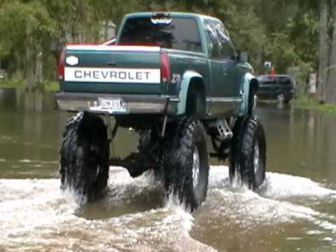 Chevy 4x4 49 Inch Tires Youtube