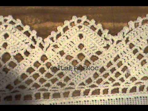 Servilletas bordadas con puntas puntillas orillas bordes - Hacer puntillas de ganchillo ...
