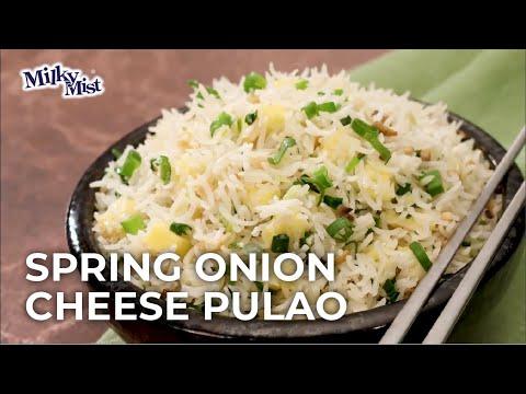 Cheese Pulao Recipe | Quick Cheese Pulao | Veg Cheese Pulao Recipe