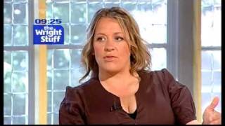 Repeat youtube video Sarah Beeny interview (08.07.09) - TWStuff