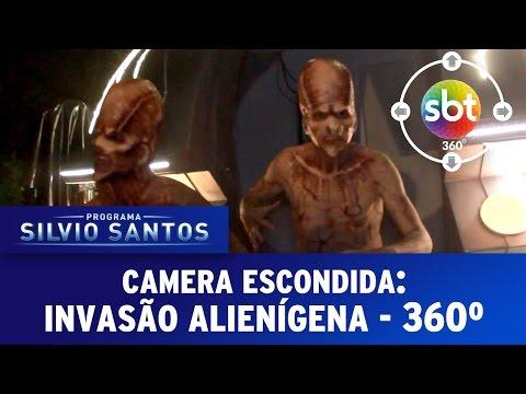 Câmera Escondida Experience 360 Graus Invasão Alienígena Extraterrestrial Prank