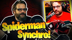 GRONKH ALS SYNCHRONSPRECHER! 🎬 Behind the Scenes🤣🎤🕸️Spider-Man: A New Universe 🔴Livestream 14.12.18