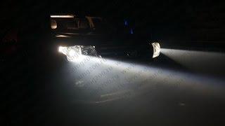 видео Светодиодные биксеноновые BI-LED линзы