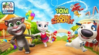 Talking Tom: Bubble Shooter - Tom & Friends Are Ready To Burst Your Bubbles (iOS/iPad Gameplay)