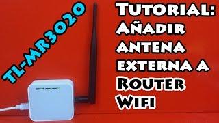Añadir antena externa a Router Wifi (Mejora de señal 📶)