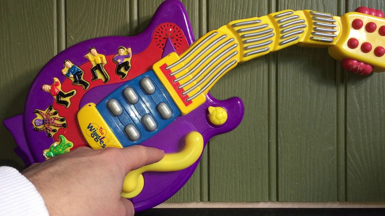 The Wiggles Guitar Wiggling Dancing Musical Singing Electronic Toy