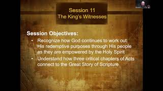 The Story of Scripture Session 11