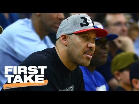 The Crew Reacts To LaVar Ball's 'White Player' Comments | First Take | April 10, 2017