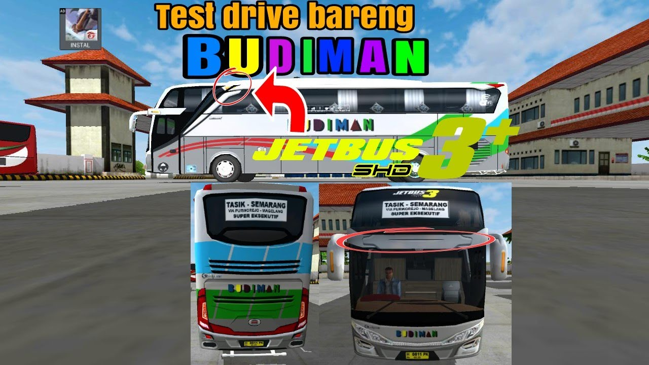 Bussid Budiman Jetbus 3 Shd Link Livery Bagibagiliverybussid
