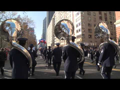 United States Air Force Band and Honor Guard Unedited From The Macy's Thanksgiving Day Parade