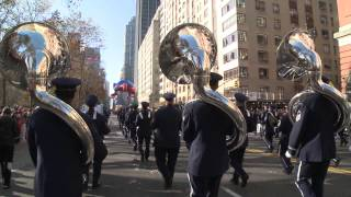 United States Air Force Band and Honor Guard Unedited From The Macy