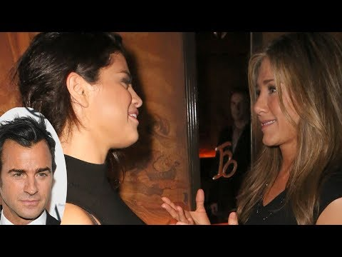 Selena Gomez CONFRONTED By Jennifer Anniston Over Justin Theroux Dating Rumour!