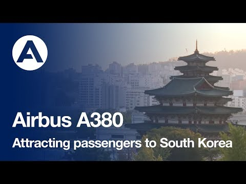 Airbus' A380 is attracting passengers to South Korea