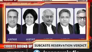 SC DECISION ON SUB CASTE RESERVATION: LEGISLATURES CAN GIVE PREFERENTIAL RESERVATION