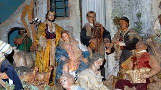 CAVA DE' TIRRENI - Il presepe monumentale del Santuario Francescano - HD