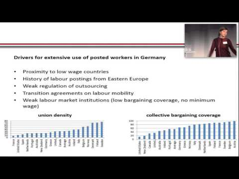 Bettina Wagner (Hertie School of Governance) Low wage labour migration in Germany