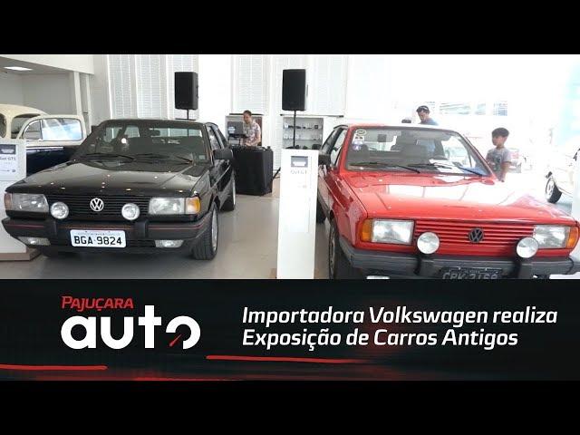 Importadora Volkswagenrealiza a terceira edição da Exposição de Carros Antigos