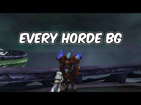 Every Horde BG - Unholy Death Knight PvP - WoW BFA 8.1.5