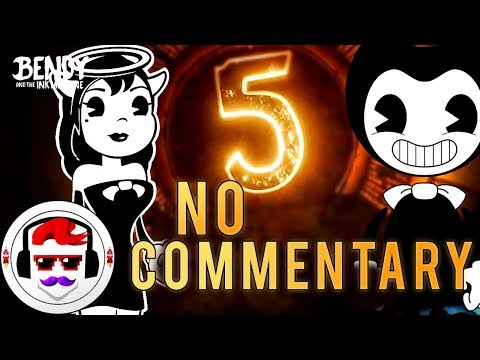 Bendy and the Ink Machine FIRST GAMEPLAY CHAPTER 5   NO COMMENTARY   Rockit Gaming